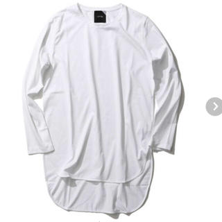 デミルクスビームス(Demi-Luxe BEAMS)の新品★ATON エイトン ラウンドヘム ロングTシャツ(Tシャツ(長袖/七分))