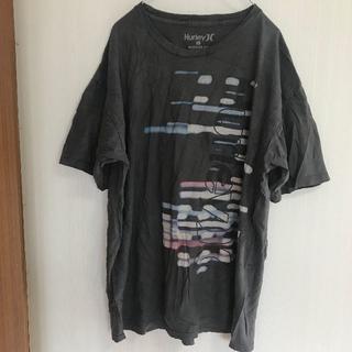ハーレー(Hurley)のアメリカ古着!Tシャツ L Hurley グレー ビッグサイズ [348](Tシャツ/カットソー(半袖/袖なし))