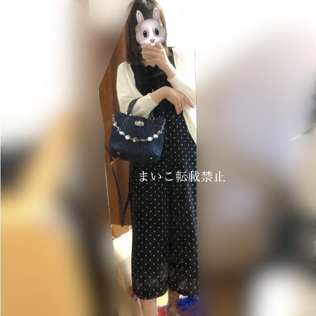 miumiu(ミュウミュウ)のmiumiu♡デニム マトラッセ ナッパクリスタル レディースのバッグ(ショルダーバッグ)の商品写真