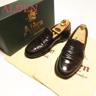 オールデン(Alden)の15.ALDEN オールデン コインローファー コードバン 6 1/2 24.5(ドレス/ビジネス)