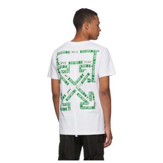 オフホワイト(OFF-WHITE)の海外限定 ホワイト 3D Diag T シャツ(Tシャツ/カットソー(半袖/袖なし))