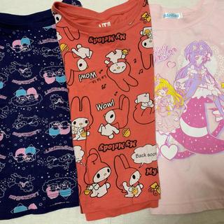 ユニクロ(UNIQLO)のTシャツ 100cm 女の子(Tシャツ/カットソー)