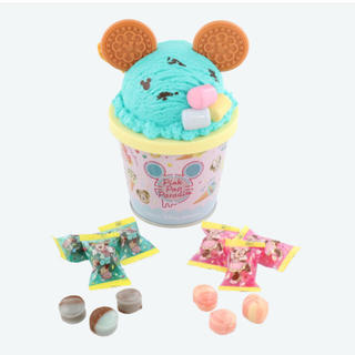 Disney - ディズニーランド ピンクポップパラダイス キャンディ アイスクリーム 缶 TDR