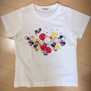 familiar - ファミリア チアガールTシャツ110cm美品