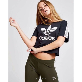 adidas - adidas originals テープ tシャツ アディダスオリジナルス