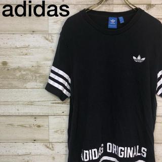 アディダス(adidas)のadidas(アディダス) Tシャツ L スリーライン トレフォイル ネイビー(Tシャツ/カットソー(半袖/袖なし))