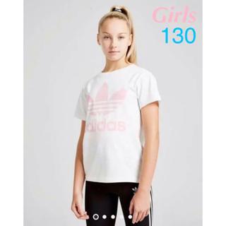 アディダス(adidas)のadidas originals tシャツ トレフォイル ガールズ(Tシャツ/カットソー)