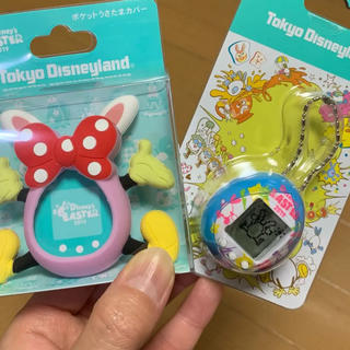 Disney - ディズニー ポケットうさたま&カバー(ピンク)