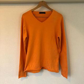 ビューティアンドユースユナイテッドアローズ(BEAUTY&YOUTH UNITED ARROWS)のast カットソー ロンT オレンジ(Tシャツ/カットソー(七分/長袖))