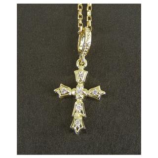 アーカー(AHKAH)の美品 アーカー AHKAH ミラクロス ネックレス 保証書 18K ダイヤモンド(ネックレス)
