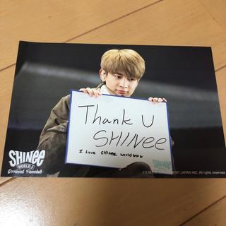 シャイニー(SHINee)のSHINee ミンホ ポストカード(アイドルグッズ)