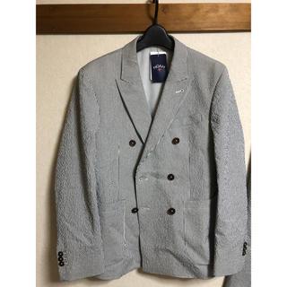 シュプリーム(Supreme)のNOAH シアサッカー ストライプジャケット パンツ ノア スーツ セットアップ(セットアップ)