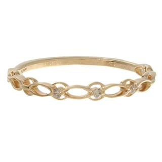 アガット(agete)のagete アガット K10 リング ダイヤモンド(リング(指輪))