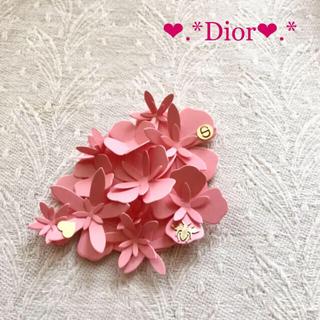 クリスチャンディオール(Christian Dior)の新品非売品♡Dior♡ディオール フラワー シール   ペーパークラフト ˚✧₊(シール)
