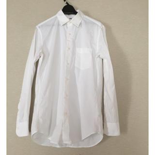 ユニクロ(UNIQLO)のユニクロ メンズ白シャツ 未使用(シャツ)