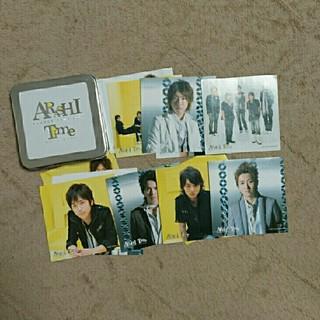 嵐 - 嵐 2007年Time 缶入りステッカー