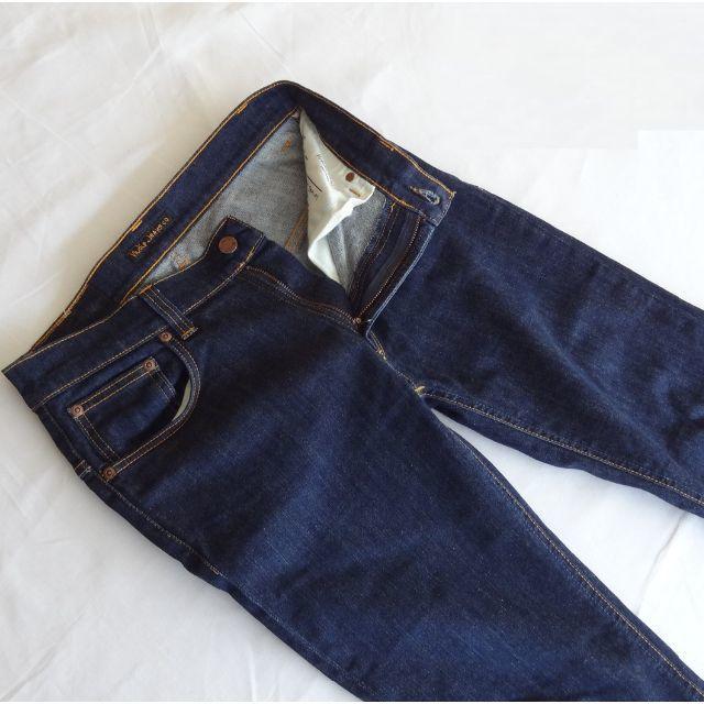 Nudie Jeans(ヌーディジーンズ)の【美品】ヌーディジーンズ シンフィン▼ストレッチスキニー32インチ▼W約74cm メンズのパンツ(デニム/ジーンズ)の商品写真