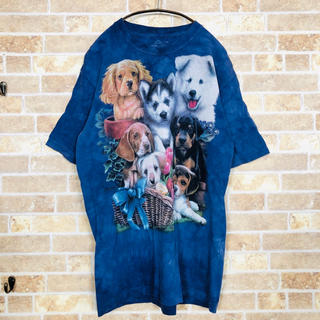 A-006 Kids XLsize mix Dog TEE(Tシャツ/カットソー)