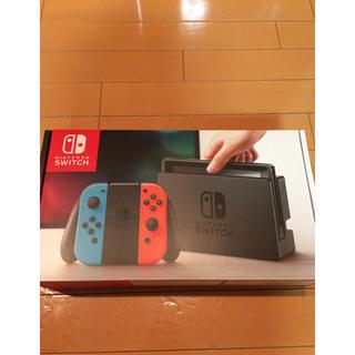 ニンテンドースイッチ(Nintendo Switch)の任天堂 スイッチ 本体 未使用 ネオンブルー  Switch(家庭用ゲーム本体)