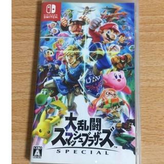 ニンテンドースイッチ(Nintendo Switch)の大乱闘スマッシュブラザーズ Switch(携帯用ゲームソフト)