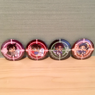 数量限定!【名探偵コナン】セガ限定プライズキャンペーン 缶バッジセット!