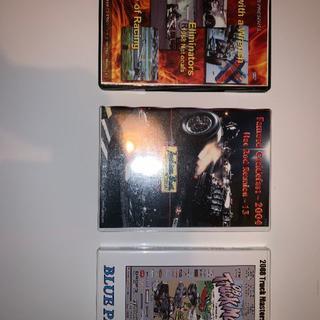 DVD カーレース ドラッグレース 3本