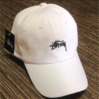 STUSSY - 【新品】stussy キャップ★ホワイト