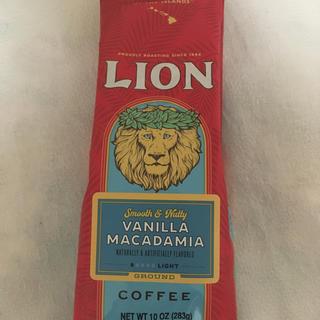 ライオン(LION)のライオンコーヒー Vanilla macadamia  283g(コーヒー)