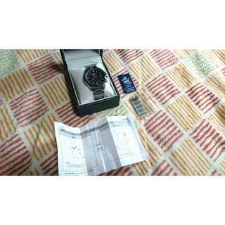 CASIO エディフィス EQW-A100(腕時計(アナログ))