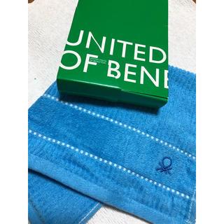 ベネトン(BENETTON)のBENETTON フェイスタオル(タオル/バス用品)