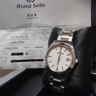グランドセイコー(Grand Seiko)の極美品 グランドセイコー 腕時計 保証期間内(腕時計(アナログ))