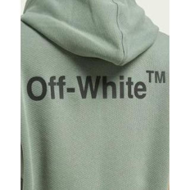 OFF-WHITE(オフホワイト)の定価10万円以上☆OFF-WHITE  コットンスウェット パーカー メンズのトップス(パーカー)の商品写真