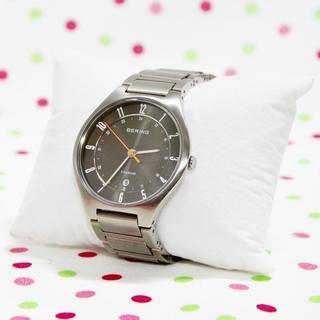 超薄型フルチタン時計!BERING Link Titanium 11739-77(腕時計(アナログ))