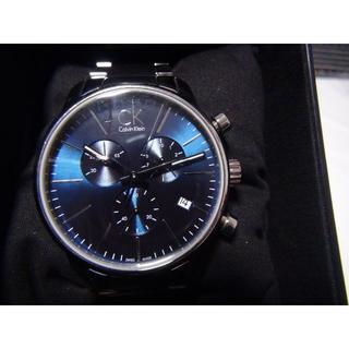 カルバンクラインの腕時計メンズ 電池式クォーツ製、稼動品(腕時計(アナログ))