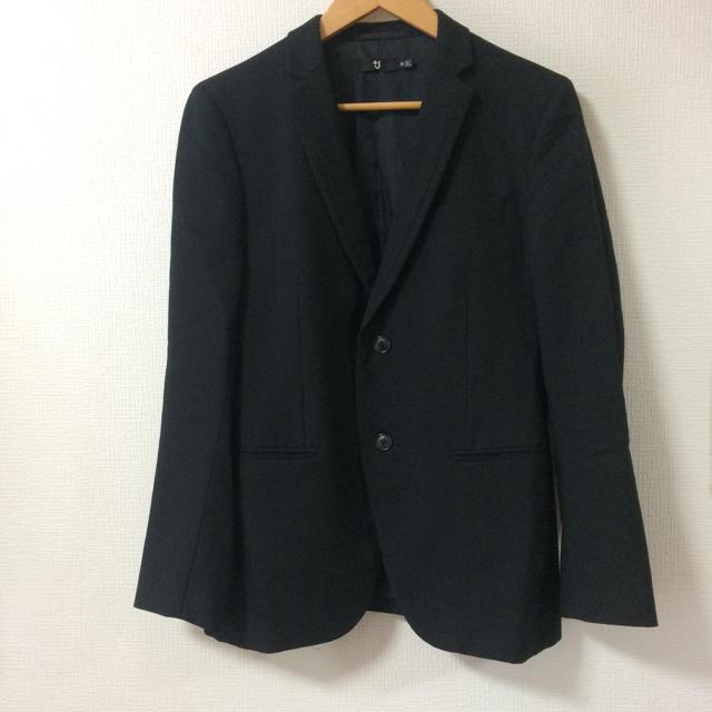 UNIQLO(ユニクロ)の+J ジャケット ブラック M メンズのジャケット/アウター(テーラードジャケット)の商品写真