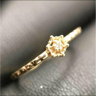 アガット(agete)のアガットk10ダイヤモンドリング(リング(指輪))