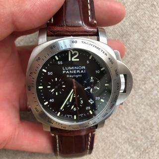 パネライ(PANERAI)のパネライ ルミノール クロノグラフ デイライト(腕時計(アナログ))