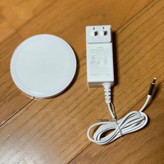 アップル(Apple)のbelkin ワイヤレス充電器 Apple限定(バッテリー/充電器)