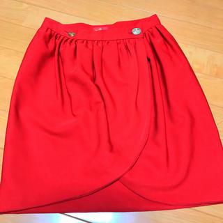 ヴィヴィアンウエストウッド(Vivienne Westwood)のvivienne westwood チューリップ型 スカート 巻き(ひざ丈スカート)