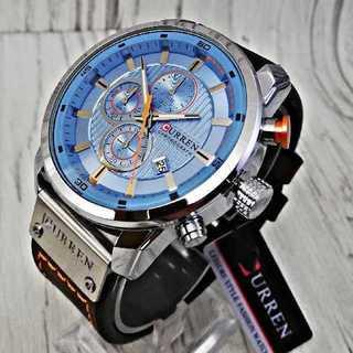 【海外限定】Carren8230スカイライン メンズ 腕時計 ウォッチ レザー(腕時計(アナログ))