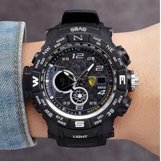 ☆大ヒット☆新品☆送料込み2018☆デュアルディスプレイ☆メンズデジタル腕時計(腕時計(アナログ))