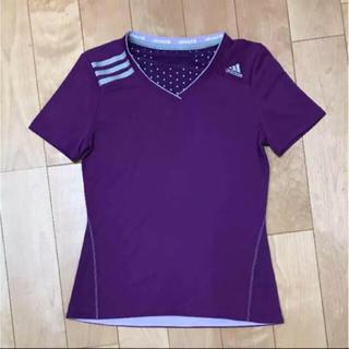 アディダス(adidas)のadidas アディダス レディース 半袖 スポーツ(Tシャツ(半袖/袖なし))