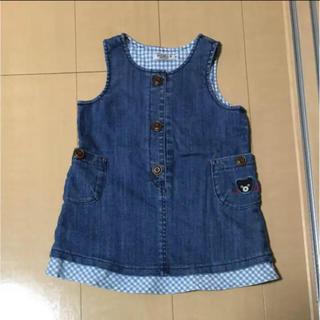 5c96b49a1d004 ダブルビー(DOUBLE.B)のダブルB ジャンパースカート キッズ 女の子用 90㎝