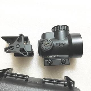 フルアルミ製 ロゴ オープンドットサイト 丸型 20mm タクティカル MRO
