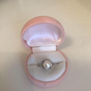 真珠指輪    8号   PT   (リング(指輪))