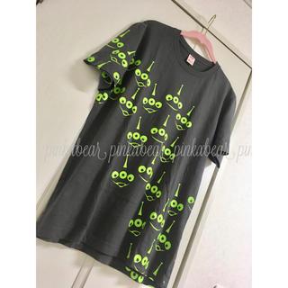 ユニクロ(UNIQLO)の美品♡ユニクロ UTGP ディズニー ピクサー リトルグリーンメン Tシャツ(Tシャツ/カットソー(半袖/袖なし))
