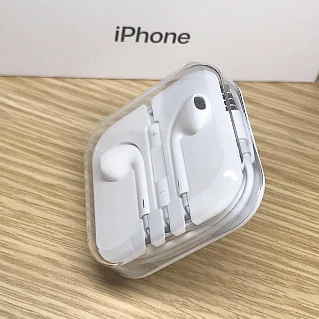 iPhone(アイフォーン)の●イヤホンとケーブル一本セット スマホ/家電/カメラのオーディオ機器(ヘッドフォン/イヤフォン)の商品写真