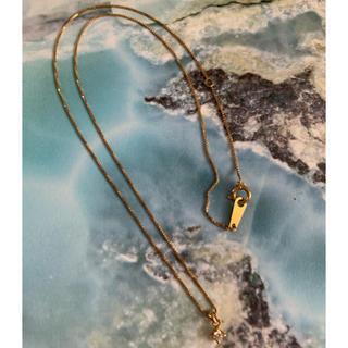 アガット(agete)のagete 深津ネックレス ダイヤモンド18K(ネックレス)