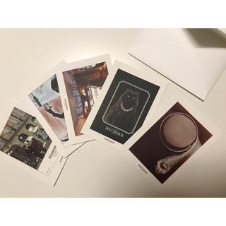 ブシュロン(BOUCHERON)のブシュロン BOUCHERON  パリ本店 ポストカード(ショップ袋)