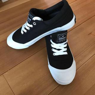 マッドフット(MAD FOOT)の新品 MAD FOOT スニーカー ブラック 26.0cm(スニーカー)